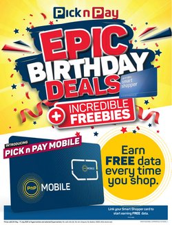 Pick n Pay Hypermarket offers in the Pick n Pay Hypermarket catalogue ( 28 days left)