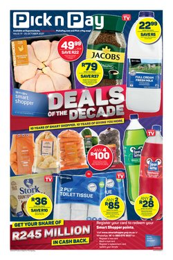 Pick n Pay Hypermarket offers in the Pick n Pay Hypermarket catalogue ( 2 days left)