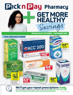 Pick n Pay Hypermarket offers in the Pick n Pay Hypermarket catalogue ( 20 days left)