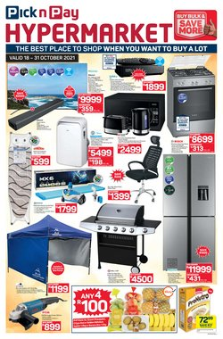 Groceries offers in the Pick n Pay Hypermarket catalogue ( 5 days left)