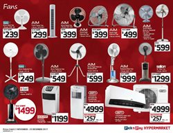 Air conditioner offers in the Pick n Pay Hypermarket catalogue in Cape Town