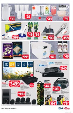 TV offers in the Pick n Pay Hypermarket catalogue in Cape Town