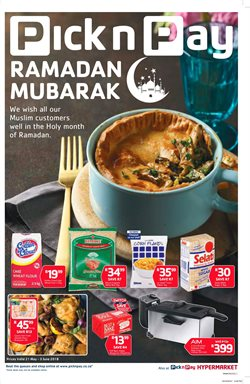 Chicken offers in the Pick n Pay Hypermarket catalogue in Cape Town
