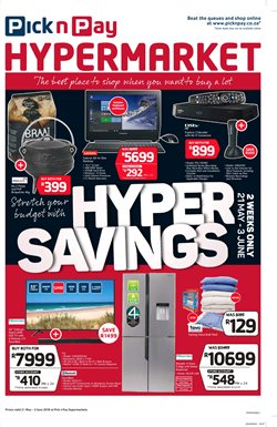 Laptop offers in the Pick n Pay Hypermarket catalogue in Cape Town