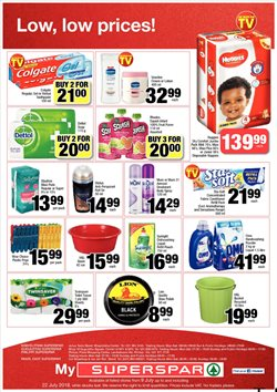 Fabric softener offers in the SuperSpar catalogue in Cape Town