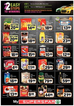 Car offers in the SuperSpar catalogue in Cape Town