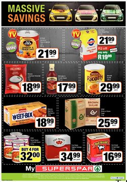 Spas offers in the SuperSpar catalogue in Cape Town