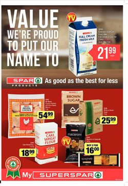 Shelving offers in the SuperSpar catalogue in Cape Town