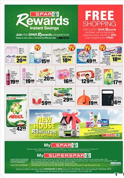 Storage media offers in the SuperSpar catalogue in Cape Town