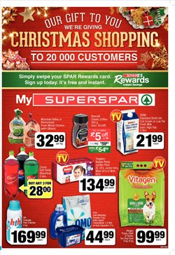 SuperSpar deals in the Durban special