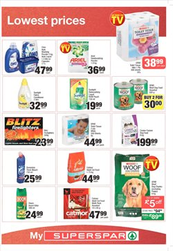 Bleach offers in the SuperSpar catalogue in Cape Town