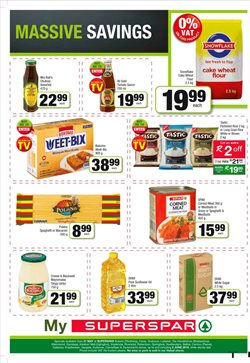 Sugar offers in the SuperSpar catalogue in Cape Town