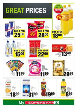 Juice offers in the SuperSpar catalogue in Cape Town