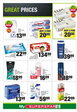 Pharmacy offers in the SuperSpar catalogue in Cape Town
