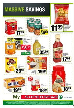 Coffee offers in the SuperSpar catalogue in Cape Town