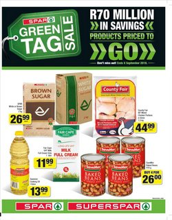Groceries offers in the SuperSpar catalogue in Cape Town