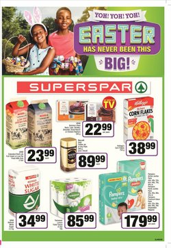 SuperSpar catalogue in Roodepoort ( 1 day ago )