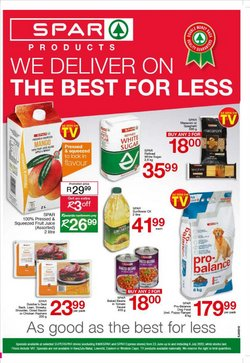 SuperSpar catalogue in Roodepoort ( Expires today )