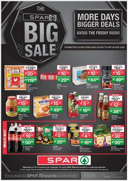 Christmas offers in the SuperSpar catalogue ( Expires today)
