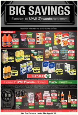 Christmas offers in the SuperSpar catalogue ( 1 day ago)