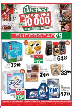 SuperSpar catalogue in Cape Town ( Published today )