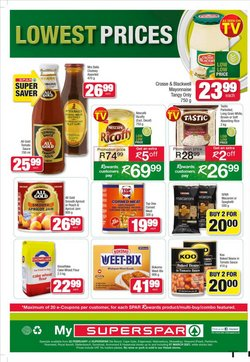 Balls specials in SuperSpar