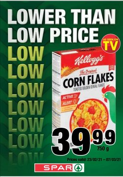SuperSpar offers in the SuperSpar catalogue ( Expired)