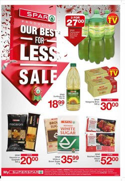 Groceries offers in the SuperSpar catalogue in Cape Town ( 4 days left )