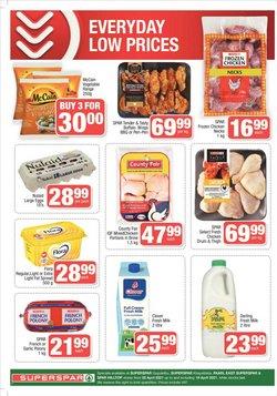 Fresh milk specials in SuperSpar