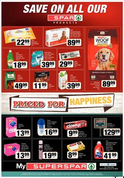 Baby offers in the SuperSpar catalogue in Cape Town