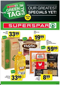 SuperSpar deals in the Cape Town special