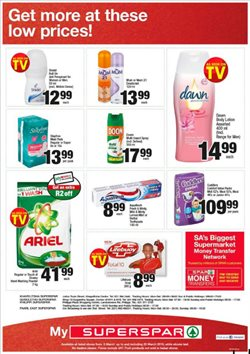 Diapers offers in the SuperSpar catalogue in Cape Town
