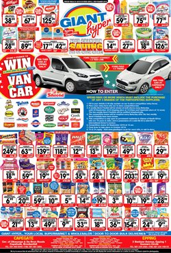 Pens offers in the Giant Hyper catalogue in Cape Town