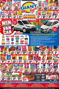 Doors offers in the Giant Hyper catalogue in Cape Town