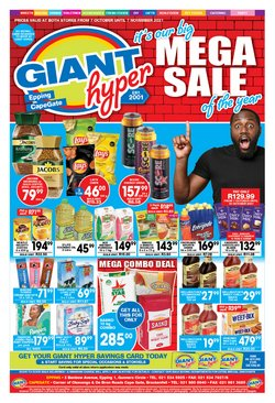 Groceries offers in the Giant Hyper catalogue ( 16 days left)