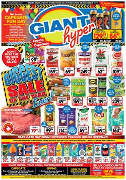 Always offers in the Giant Hyper catalogue in Cape Town