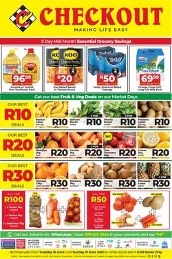 Checkout offers in the Checkout catalogue ( Expired)