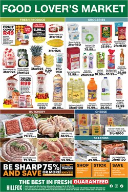 Food Lover's Market deals in the Johannesburg special
