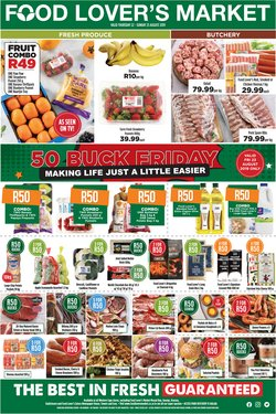 Food Lover's Market deals in the Mitchell's Plain special