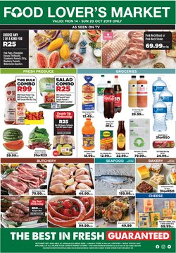 Food Lover's Market deals in the Krugersdorp special