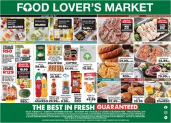 Food Lover's Market deals in the Pretoria special