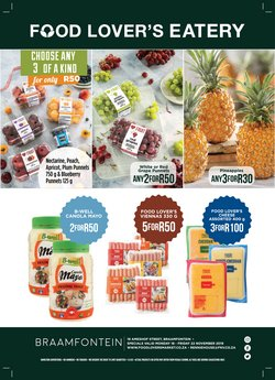 Groceries offers in the Food Lover's Market catalogue in Soweto