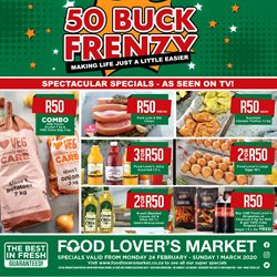 Food Lover's Market catalogue in Cape Town ( 1 day ago )