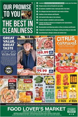 Food Lover's Market catalogue Hillfox Value Centre in Roodepoort ( Expires tomorrow )