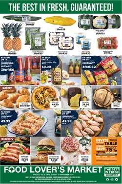 Food Lover's Market catalogue ( Expires tomorrow)