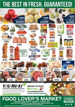 Food Lover's Market catalogue in Durban ( 2 days left )