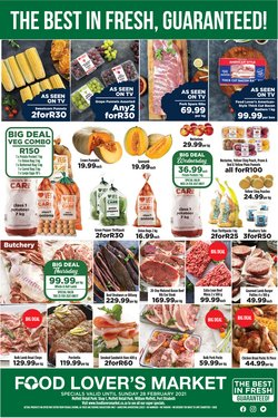 Groceries offers in the Food Lover's Market catalogue in Port Elizabeth ( Expires today )