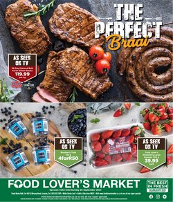 Groceries offers in the Food Lover's Market catalogue ( Expires tomorrow)