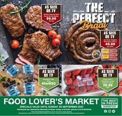Food Lover's Market catalogue ( Expires tomorrow)