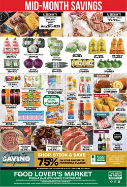 Groceries offers in the Food Lover's Market catalogue ( Expires today)